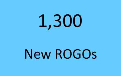 1300 New ROGOs