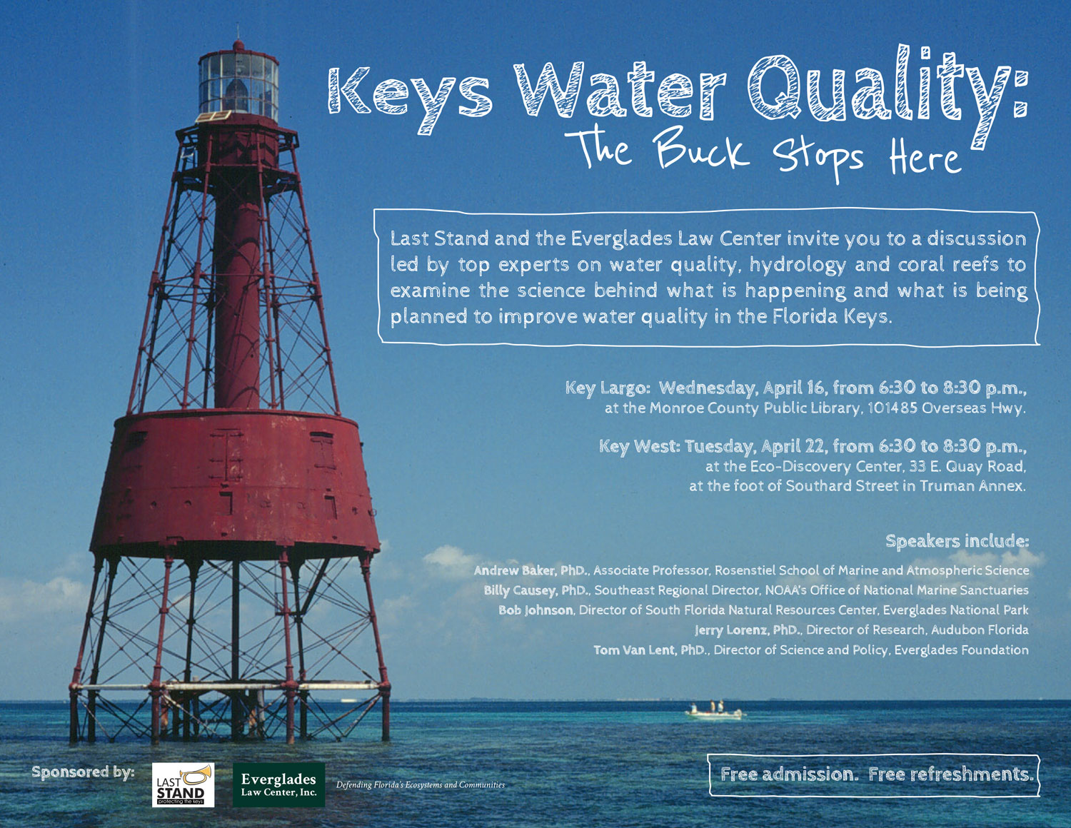 KEYS WATER QUALITY:  The Buck Stops Here